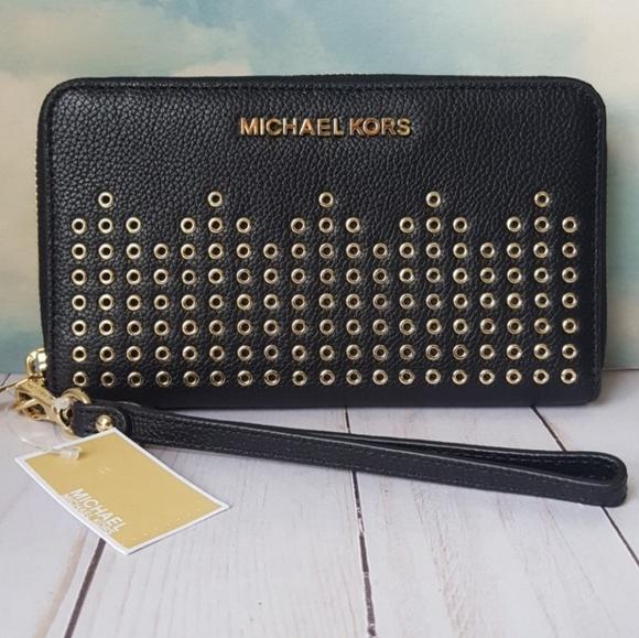 9352af92d21d Michael Kors Hayes Phone Wallet Wristlet